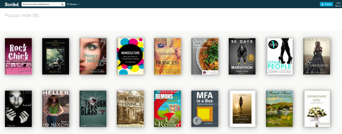 Scribd pop indie